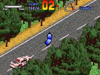 Partida arcade World Rally Championship