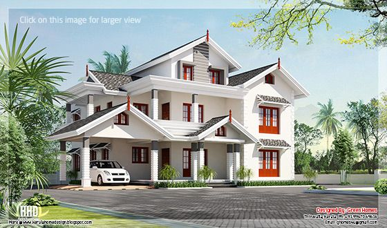 Awesome 5 bedroom villa design