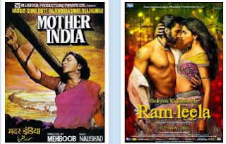 poster of mother india and ramleela