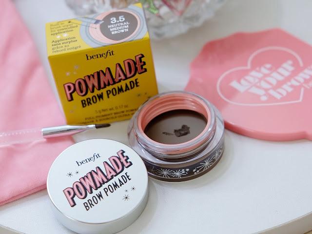 Benefit POWmade Brow Pomade Review By Nikki Tiu of askmewhats.com