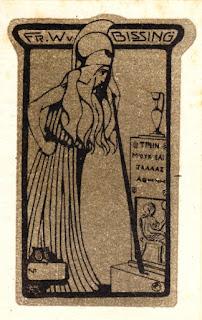 Ex Libris Friedrich Wilhelm von Bissing