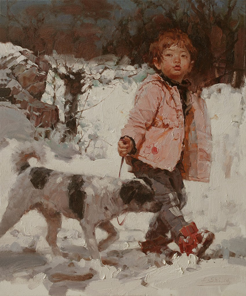 Jin Fengshi Early snow