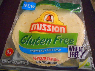 Package of Mission Gluten-Free Flour Tortillas - Soft Taco Size