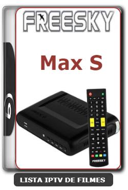Freesky Max S Nova Atualização Com Melhorias no Sistema V1.09.21402 - 18-02-2020