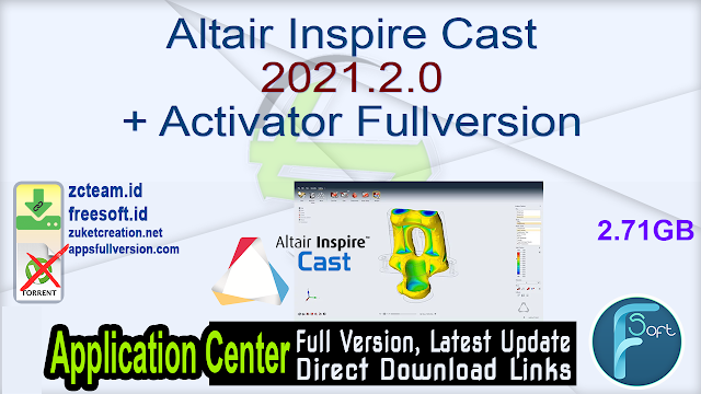 Altair Inspire Cast 2021.2.0 + Activator Fullversion
