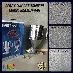 Spray Gun Cat Tekstur Sistem Buka Keran - Cement Gun Texture