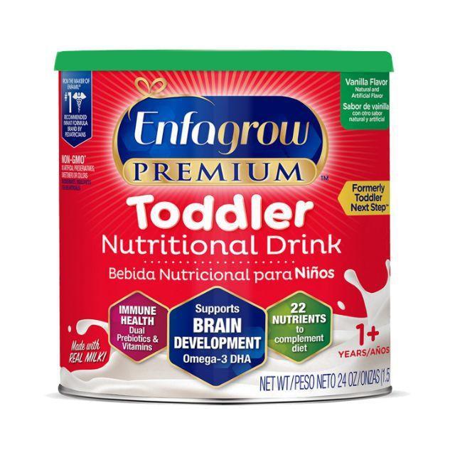 Sữa Bột Enfagrow Premium Toddler Nutritional Nắp Xanh Hương Vanilla 680g