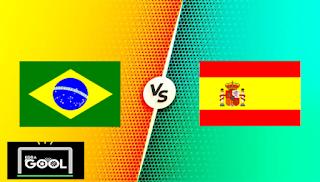مشاهدة مباراة البرازيل واسبانيا بث مباشر كورة جول اليوم 07-08-2021 في نهائي الألعاب الأولمبية 2020