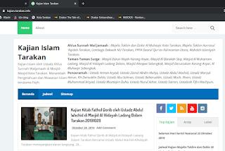 Mendesain Favicon Blog Kajian Islam Tarakan