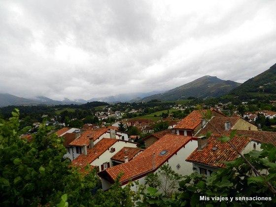 Vistas desde la Ciudadela, Saint Jean Pied de Port, Francia