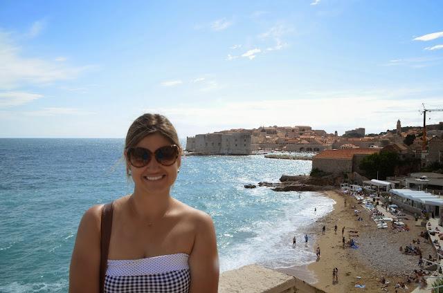 Banje Beach, Dubrovnik, Croácia.