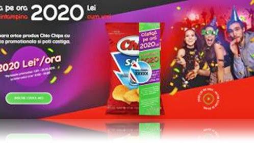 CONCURS www chio ro Castiga 2020 lei cu CODURILE CHIO CHIPS