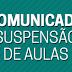 GOVERNO DO ESTADO ANUNCIA SUSPENSÃO DAS AULAS NA REDE ESTADUAL