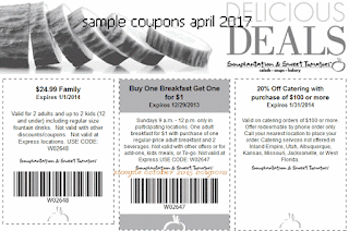 Sweet Tomatoes coupons for april 2017