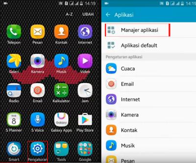 Cara membuka aplikasi android yang dikunci dengan Pengunci Aplikasi
