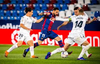ملخص واهداف مباراة هويسكا وليفانتي (2-0) الدوري الاسباني
