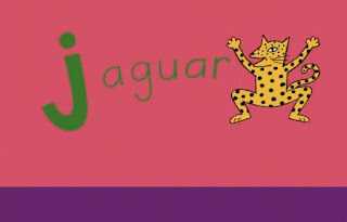 Jumping J. A group of animals jumping with the letter J. Sesame Street All Star Alphabet