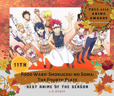 Food Wars: The Fourth Plate