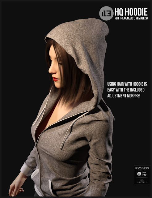 i13 HQ Hoodie for the Genesis 3 Female