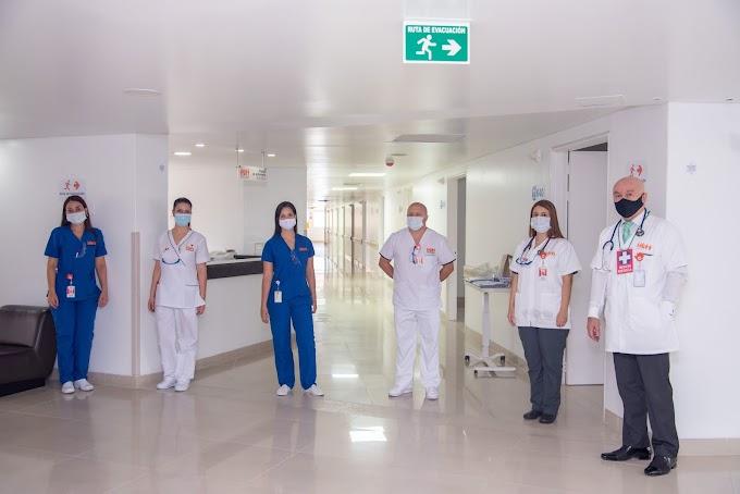 Clínica de la 80 ayuda a descongestionar la red hospitalaria de Medellín, en medio de la pandemia del COVID-19