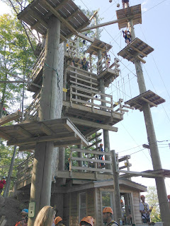 Timber Challenge High Ropes, Blue Mountain, Collingwood, ON