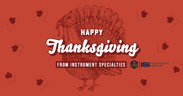 Happy Thanksgiving from Instrument Specialties