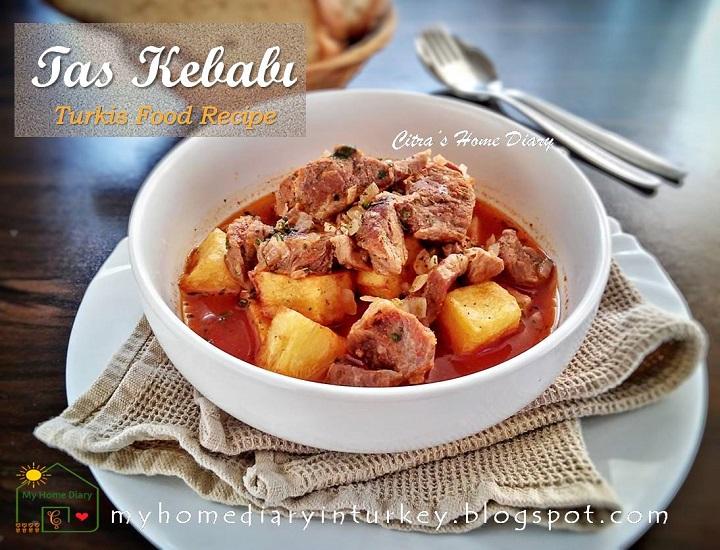 Turkish Food Recipe: Tas Kebabı | Çitra's home Diary. #resepmasakanturkiseharihari #turkishfoodrecipe #kebabrecipe #meatrecipeidea #lambrecipeidea #stew #braisecooking