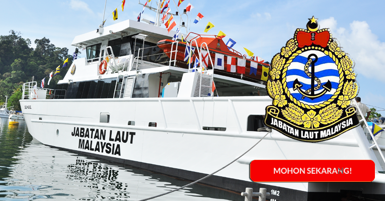 Jawatan Kosong di Jabatan Laut Malaysia - Pengambilan Terbaru