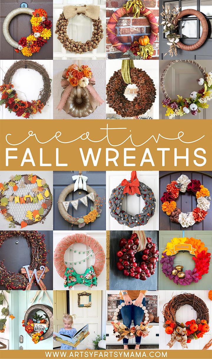 Creative DIY Fall Wreaths