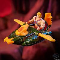 SDCC 2021 Mattel Hot Wheels Comic Con Masters of The Universe Wind Raider vs Land Shark 01