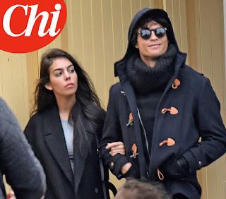 Foto de Georgina Rodríguez e Cristiano Ronaldo