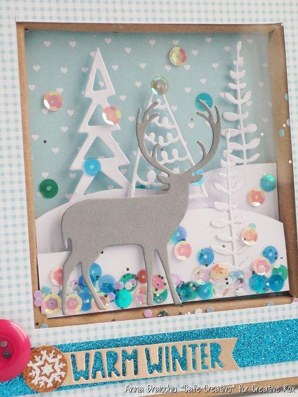 Cornice shaker box natalizia