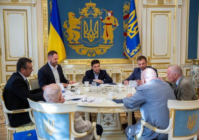 Зустріч Президента України Зеленського з керівництвом НАН України