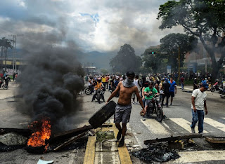clashes between Venezuelan army and attack group