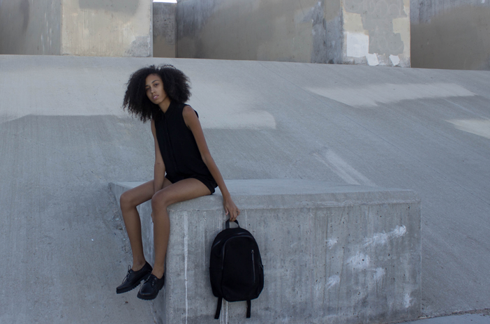 Black Everlane Backpack
