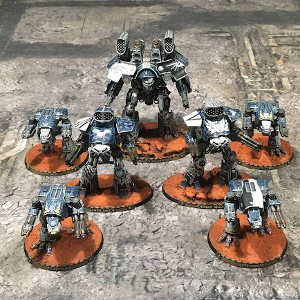 Legio Tempestus Axiom Maniple for Adeptus Titanicus