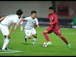 مشاهدة مباراة قطر والعراق