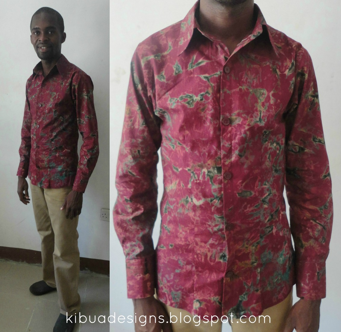 Kibua Designs: BATIK SHIRT