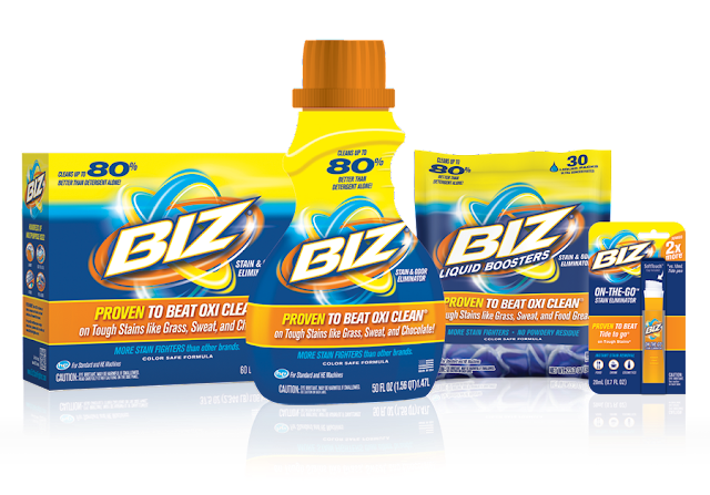 Biz Stain Fighter line of products #BizAmbassador #ad