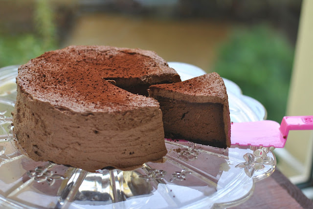 Darf's ein Stück Chocolate Cheesecake sein?