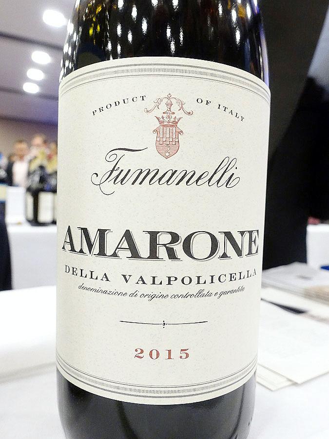 Fumanelli Amarone della Valpolicella Classico 2015 (92 pts)