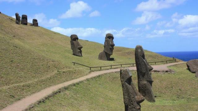 Inilah 20 Fakta Unik tentang Patung Moai