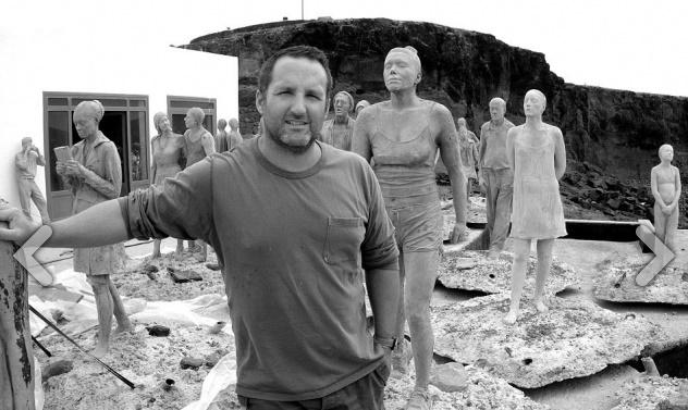 Jason deCaires Taylor pemilik ide patung bawah laut ini