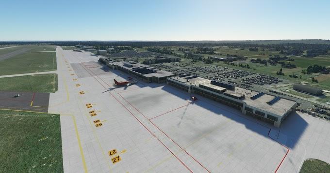 MSFS2020 - EPKT Katowice Pyrzowice Airport Scenery, Poland - V.1.0 [HD]