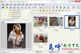 FastStone Image Viewer 中文版免安裝看圖工具、修圖軟體、改圖軟體下載