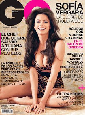 Sofia Vergara Nude for GQ Mexico http://shar.es/Scgry