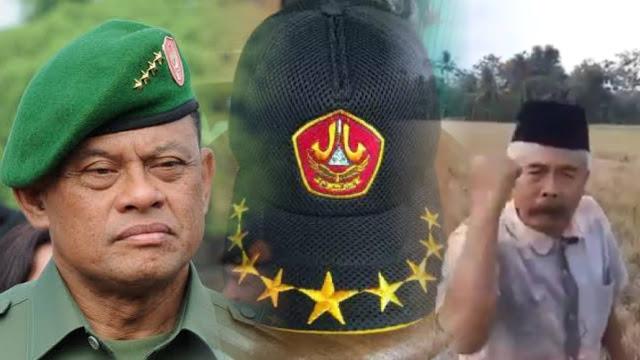 Ngaku Mantan Jendral Banser, Orang Ini Tantang Eks Panglima TNI Gatot Nurmantyo