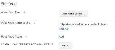 Feed widget feed url redirect