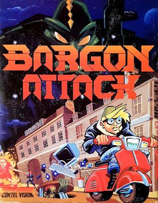 Portada videojuego Bargon Attack