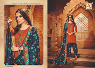 Alok Suis Shan E Punjab Pashmina Collection